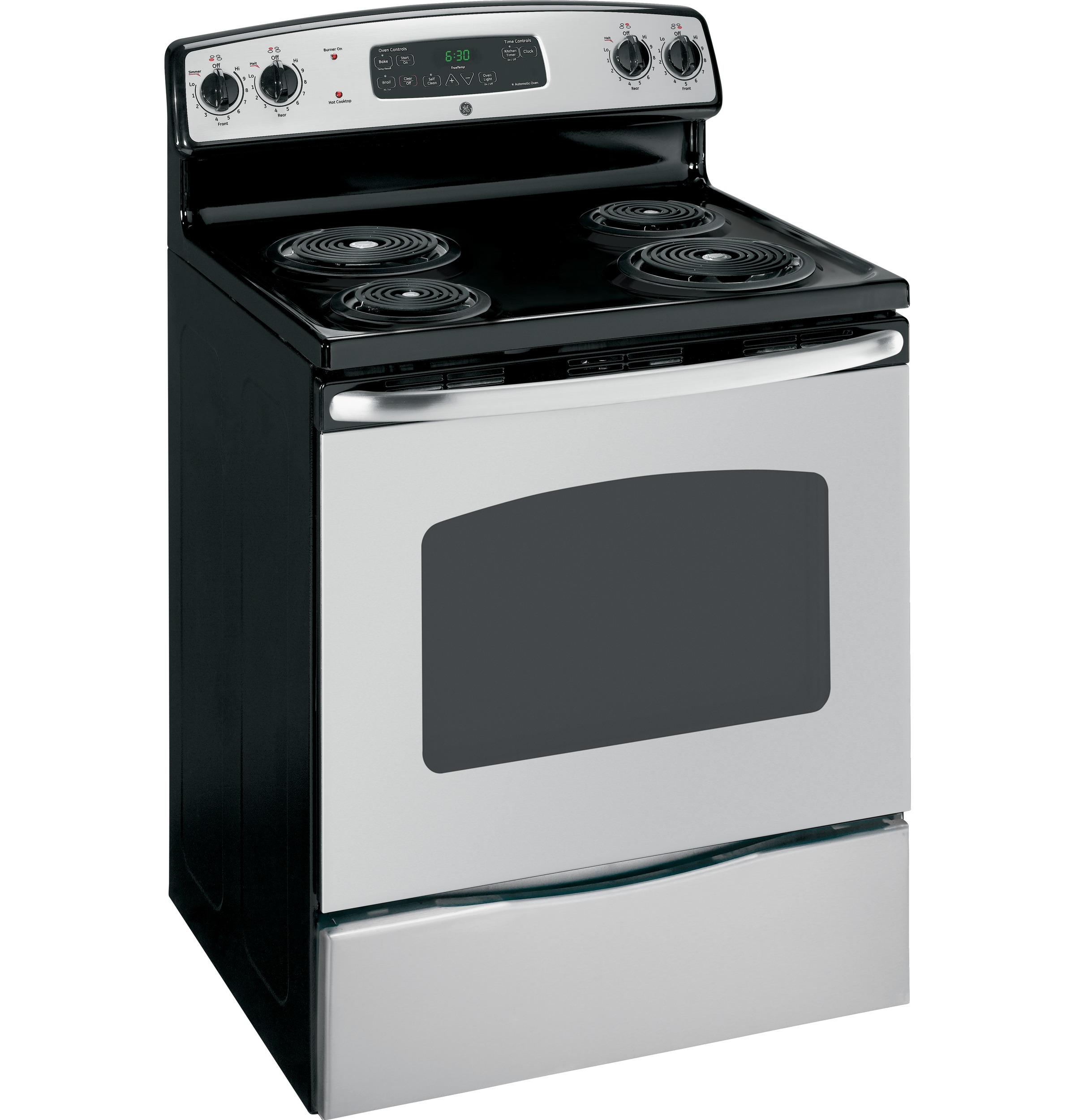 General Electric Stoves ~ Jbp drww general electric ranges white