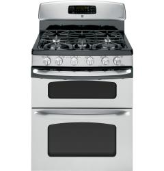Brand: GE, Model: JGB870DET, Color: Stainless Steel