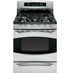 Brand: GE, Model: P2B930DETWW, Color: Stainless Steel