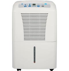 Brand: GE, Model: ADER50LP, Style: 50 Pint/Day Portable Dehumidifier