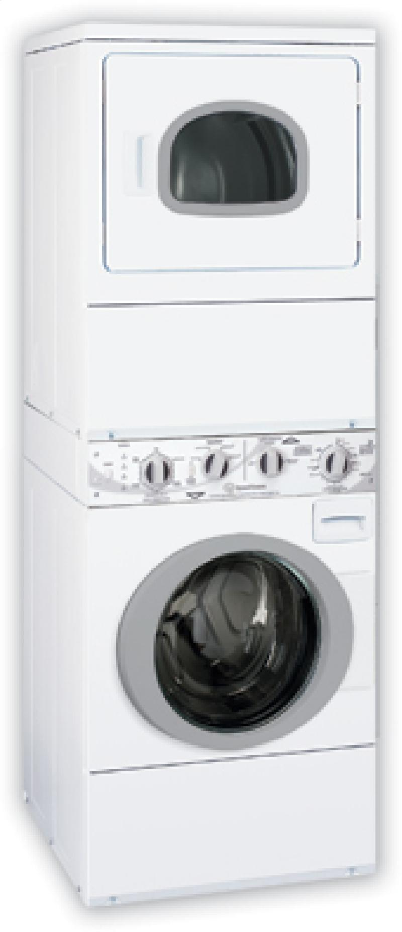 Speed Queen Atg50 27 Inch Stacked Gas Washer Dryer With 3