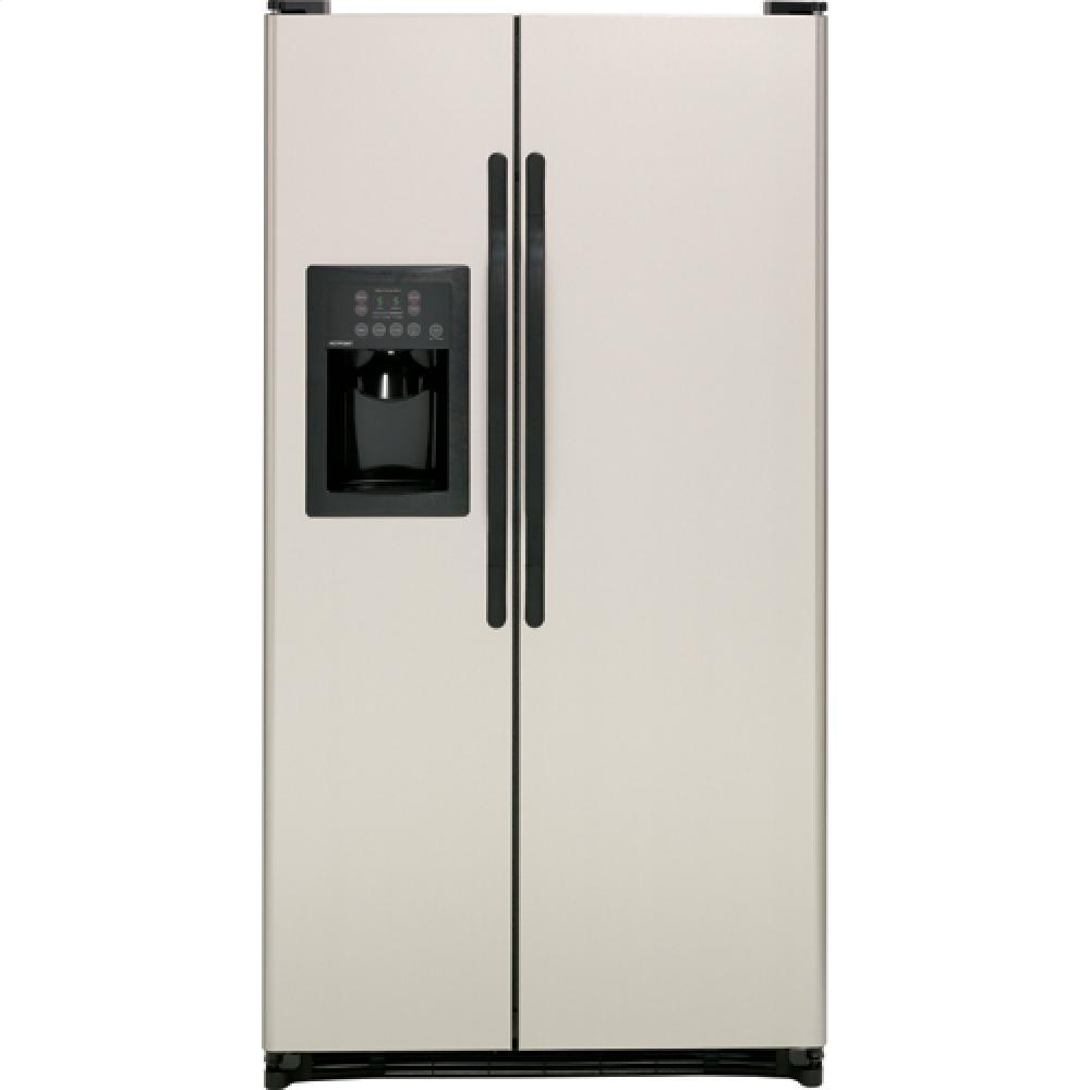 Hotpoint Hsh25gfbbb 25 0 Cu Ft Side By Side Refrigerator