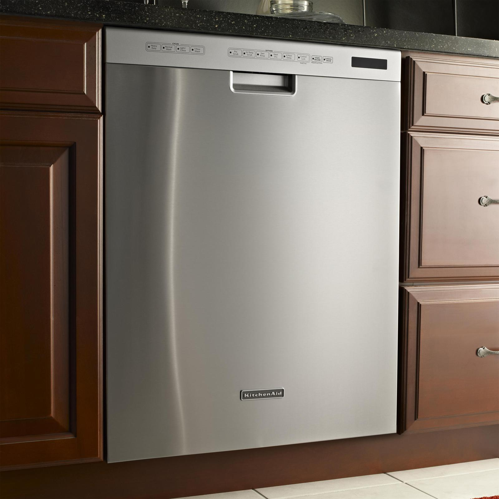 Kuds30cxbl kitchenaid kuds30cxbl superba series - Kitchenaid dishwasher not cleaning top rack ...