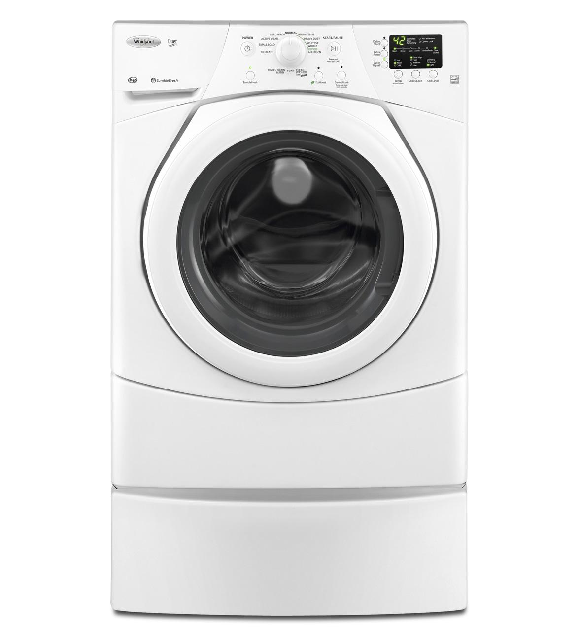Wfw9151yw Whirlpool Wfw9151yw Duet Front Load Tumble