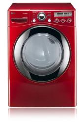 Brand: LG, Model: DLGX2551W, Color: Wild Cherry Red
