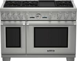 Brand: THERMADOR, Model: PRD486JDGU, Style: 48 Inch Pro-Style Dual-Fuel Range