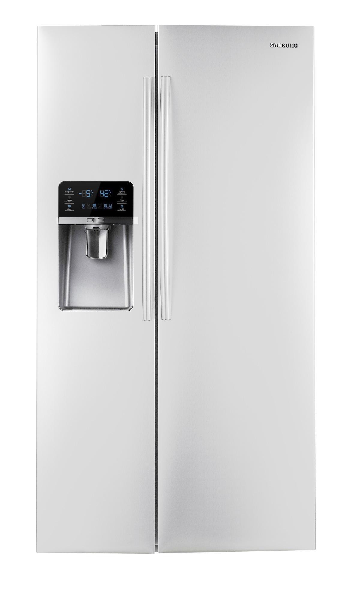 Samsung Rsg307aars 29 6 Cu Ft Side By Side Refrigerator