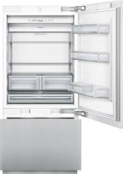 Brand: THERMADOR, Model: T36IB800SP, Style: 36 Inch Built-in Flush Bottom Freezer Refrigerator