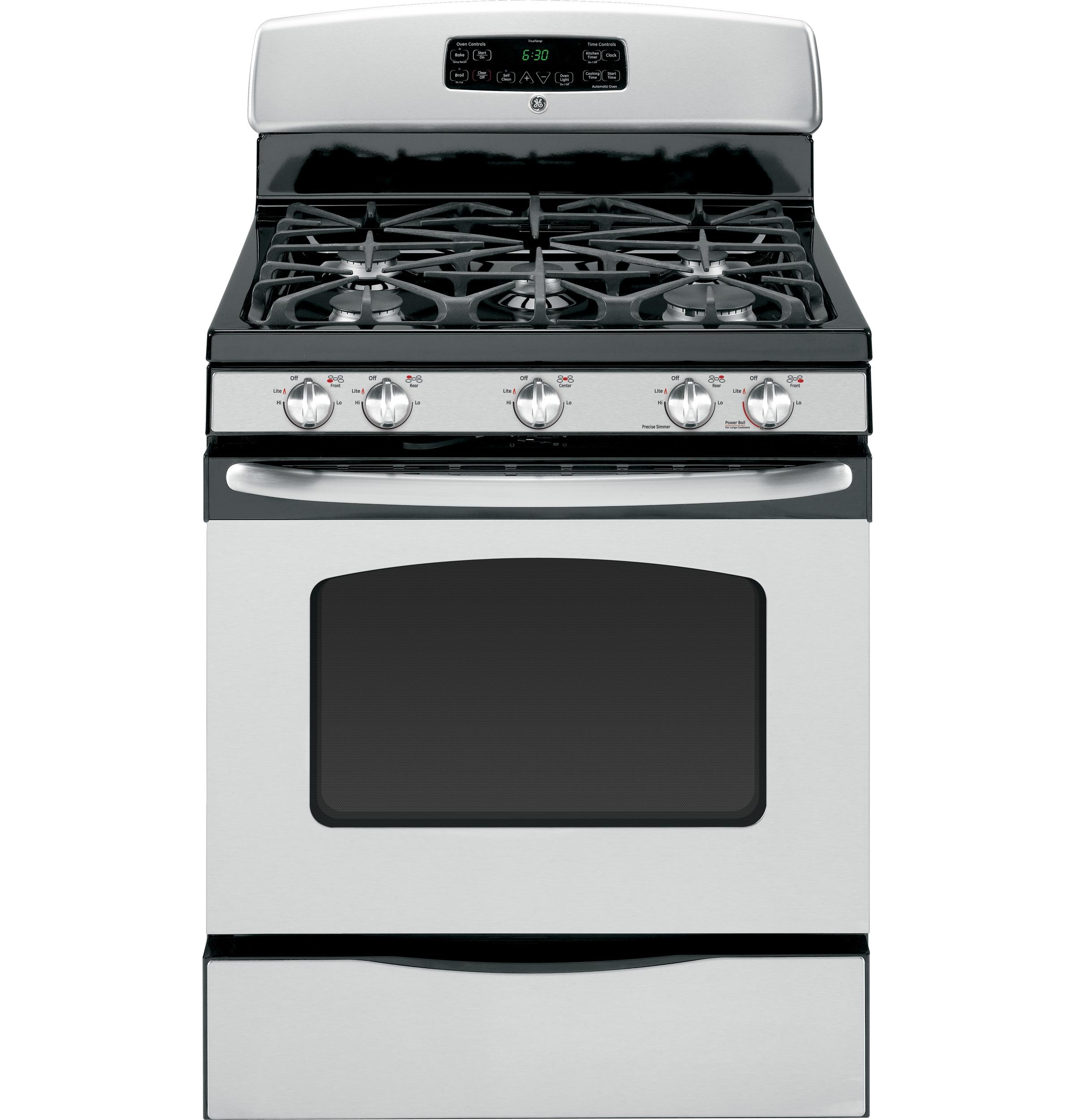 General Electric Stoves ~ Jgb setss general electric gas ranges