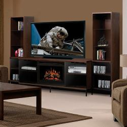 Brand: Dimplex, Model: PGDS25MA1056, Style: Electric Fireplace Media Console