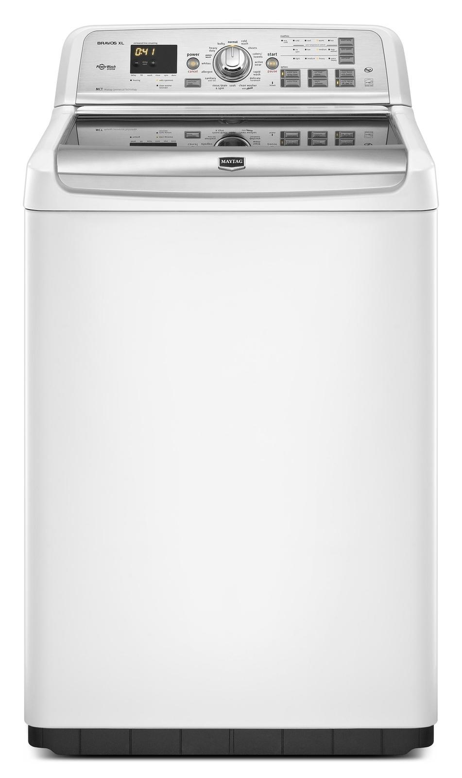 Maytag Mvwb950yw 28 Quot Top Load Washer With 4 6 Cu Ft
