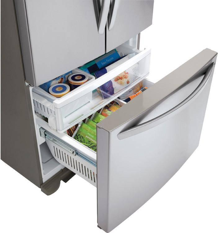 Lfc25765st Lg Lfc25765st Bottom Freezer Refrigerators