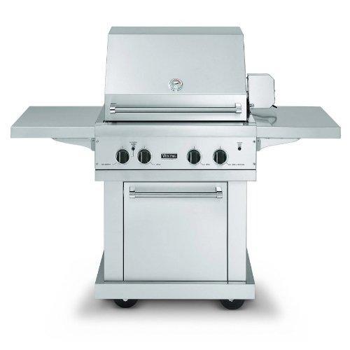 Bqc300t3ss viking bqc300t3ss ultra premium grill carts for Viking professional outdoor grill