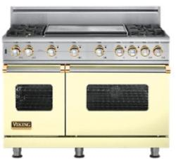 Brand: Viking, Model: VGSC5484GSSBR, Color: Custom Colors with Brass Accent