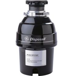 Brand: GE, Model: GFC720T, Style: 3/4 HP Continuous Feed Waste Disposer