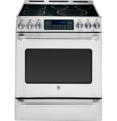 Brand: GE, Model: CS980STSS, Style: 30 Inch Slide-in Electric Range