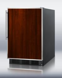 Brand: SUMMIT, Model: FF6B7, Color: Stainless Steel Door Frame/Requires Custom Panel