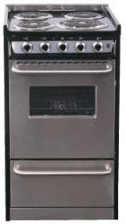 Brand: SUMMIT, Model: TEM110BRWY, Style: 20 Inch Slide-in Electric Range