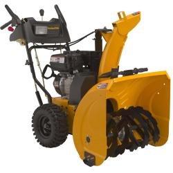 Brand: POULAN PRO, Model: PR627ES, Style: 27-Inch 208cc LCT Gas Powered Two-Stage Snow Thrower
