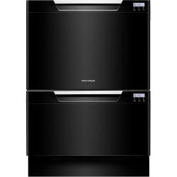 Brand: Fisher Paykel, Model: DD24DHTI7, Color: Black