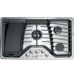 Brand: GE, Model: PGP986SETSS, Style: 36 Inch Gas Cooktop