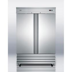 Brand: SUMMIT, Model: SCRR490, Style: 46.6 cu. ft. Commercial All Refrigerator