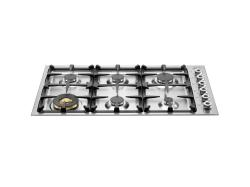 Brand: Bertazzoni, Model: QB36600X, Fuel Type: Stainless Steel
