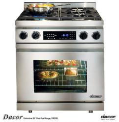Brand: Dacor, Model: DR30DILPH, Fuel Type: Natural Gas