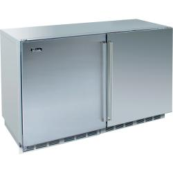 Brand: PERLICK, Model: HP48FRS1L1R, Style: Solid Stainless Doors/1 Right and 1 Left Hinge