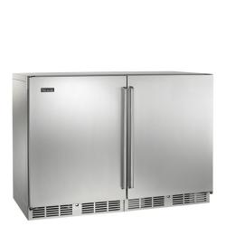 Brand: PERLICK, Model: HP48RWS2L4R, Style: Solid Stainless Doors/1 Right and 1 Left Hinge