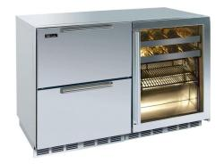 Brand: PERLICK, Model: HP48RBS53R, Style: Stainless Steel Glass Door