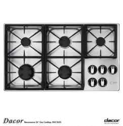 Brand: Dacor, Model: RGC365SNG