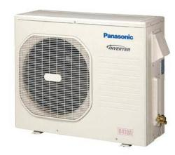 Brand: PANASONIC, Model: CSKE24NKU, Style: Outdoor Unit