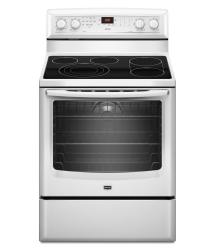 Brand: MAYTAG, Model: MER8880AS, Color: White