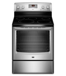 Brand: MAYTAG, Model: MER8670A, Color: Stainless Steel