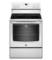 Brand: MAYTAG, Model: MER8775AS, Color: White