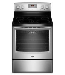 Brand: MAYTAG, Model: MER8775AB, Color: Stainless Steel