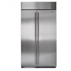 Brand: SUB ZERO, Model: BI42SIDSTH, Color: Stainless Steel with Tubular Handles