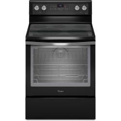 Brand: Whirlpool, Model: WFE710H0AS, Color: Black with Silver Handle