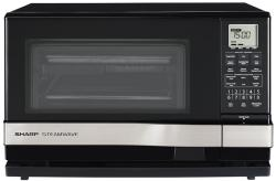 Brand: SHARP, Model: AX1100S, Color: Black with Stainless Steel Accents