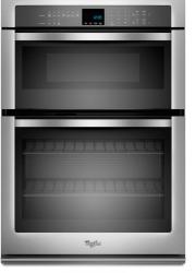 Brand: Whirlpool, Model: WOC54EC0AW, Color: Stainless Steel