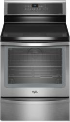 Brand: Whirlpool, Model: WFI910H0AS, Style: 30 Inch Freestanding Induction Range