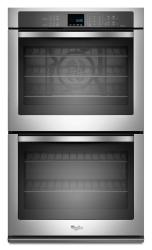 Brand: Whirlpool, Model: WOD93EC7AW, Color: Stainless Steel