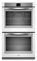 Brand: Whirlpool, Model: WOD93EC0AS, Color: White with Silver Handle