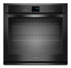 Brand: Whirlpool, Model: WOS51EC7AT, Color: Black