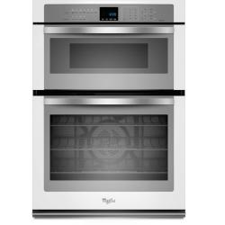 Brand: Whirlpool, Model: WOC95EC0AS, Color: White with Silver Handle