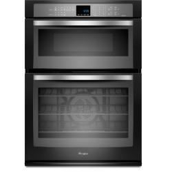 Brand: Whirlpool, Model: WOC95EC0AS, Color: Black with Silver Handle