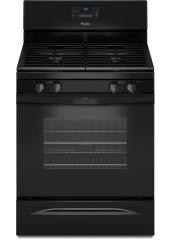Brand: Whirlpool, Model: WFG520S0A, Color: Black