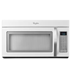 Brand: Whirlpool, Model: WMH53520AB, Color: White with Silver Handle