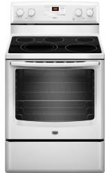 Brand: MAYTAG, Model: MER8674AB, Color: White
